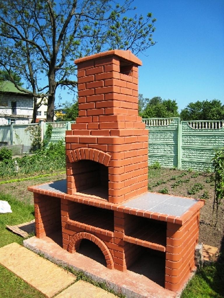 Как строить печь-барбекю уличную для дачи проекты веранд с выходом из дома и барбекю