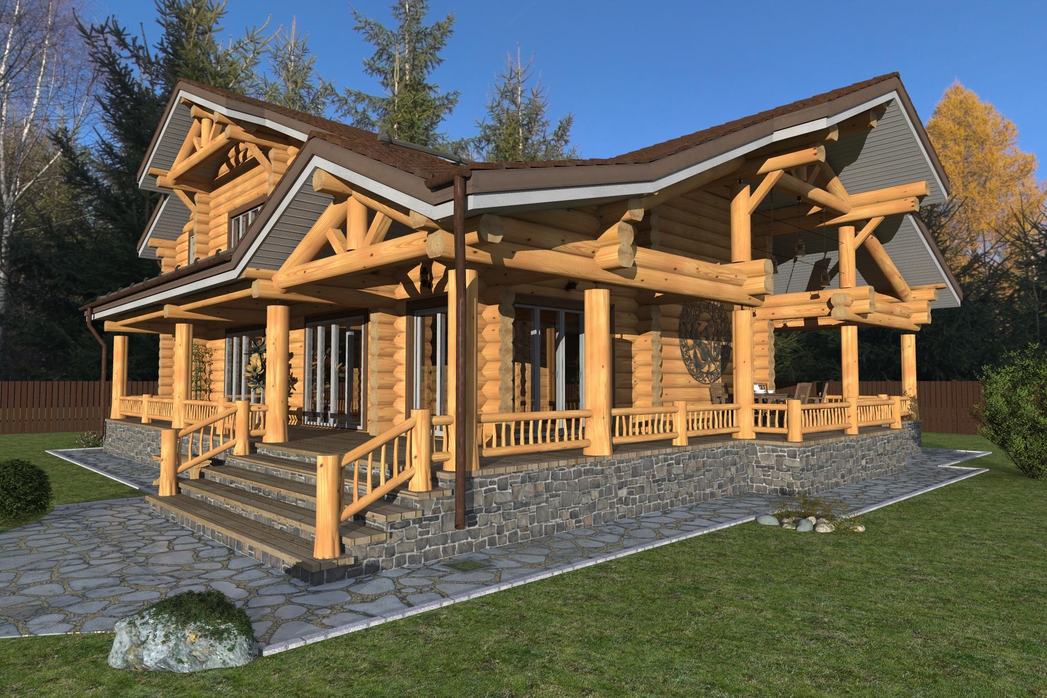 �� Каталог готовых типовых проектов домов и коттеджей